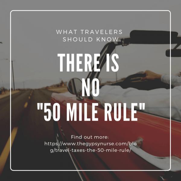 50 mile rule