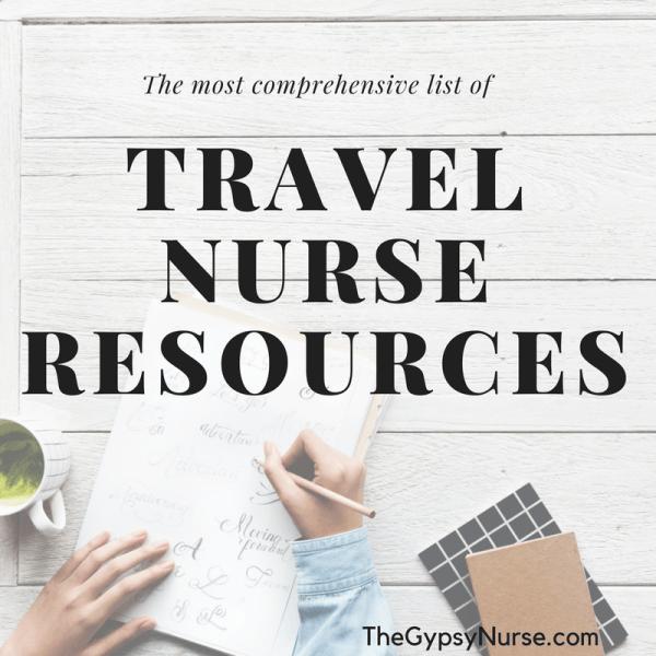 travel nurse resource