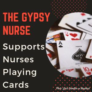 nurses playing cards